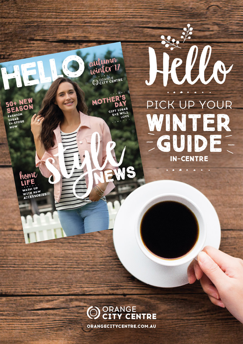 AUTUMN WINTER GUIDE OUT NOW!