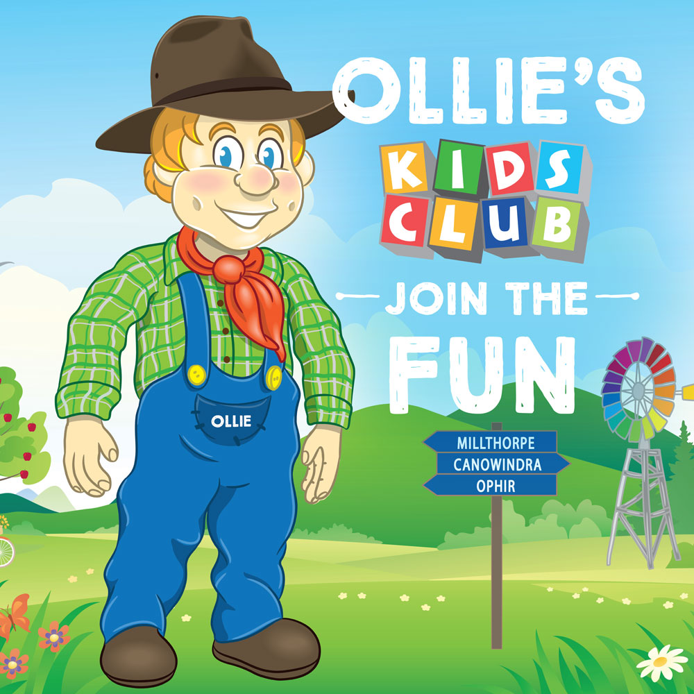 JOIN THE ORANGE CITY CENTRE OLLIES KIDS CLUB!