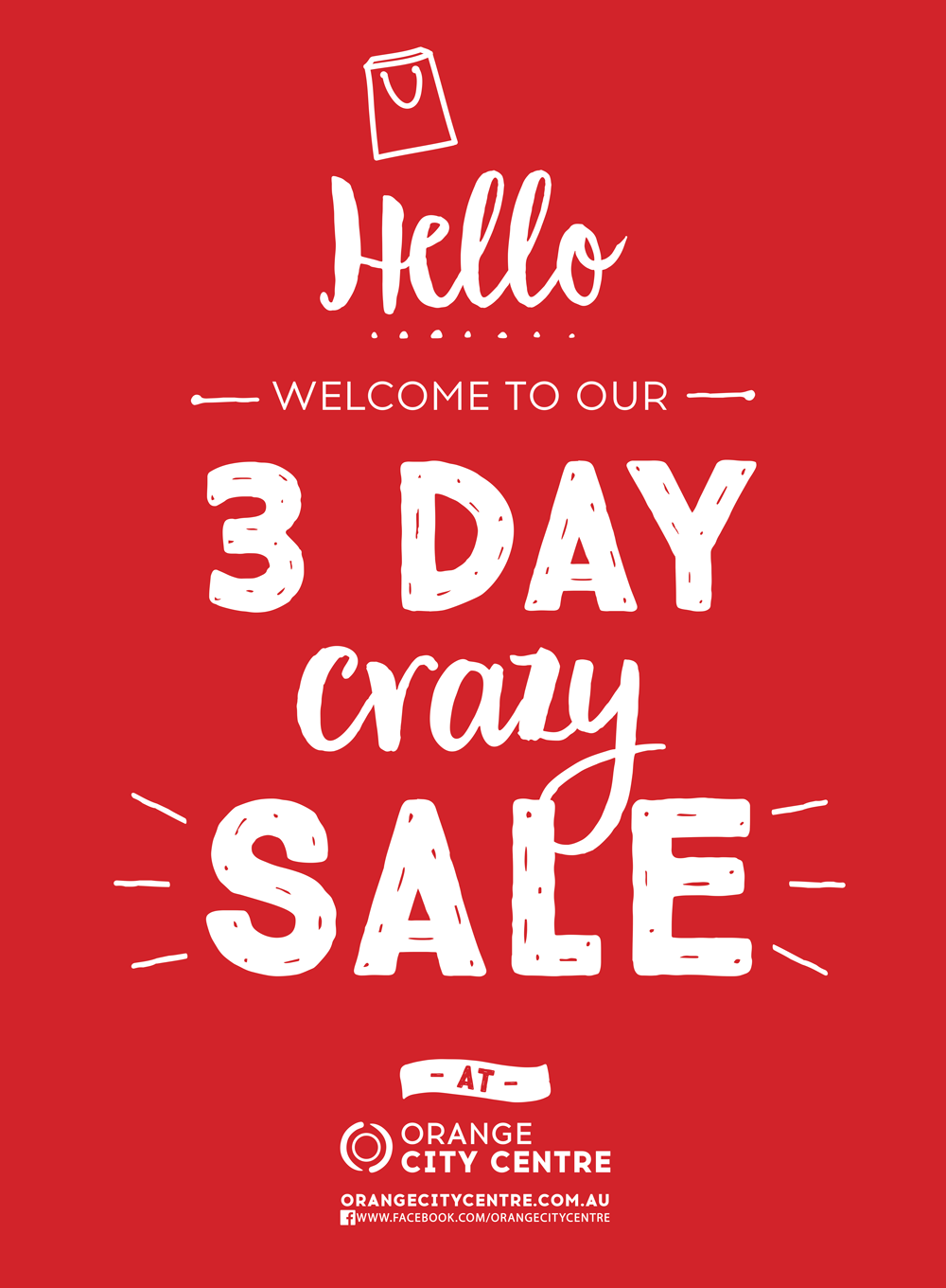 Our 3-Day CRAZY Sale is here!